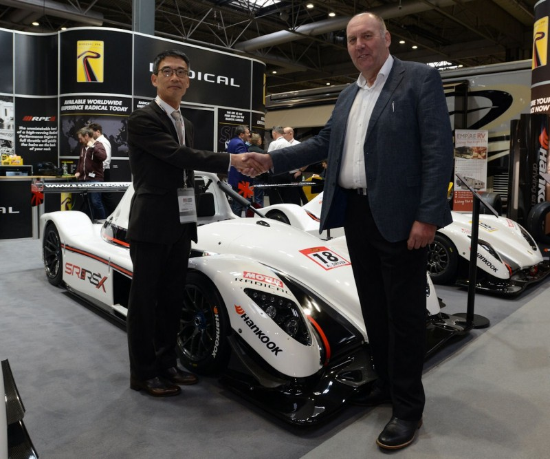 Hankook selected as OE tyres for Radical range