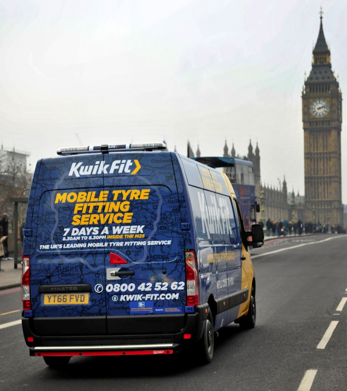 Kwik Fit returns as British Gas tyre supplier