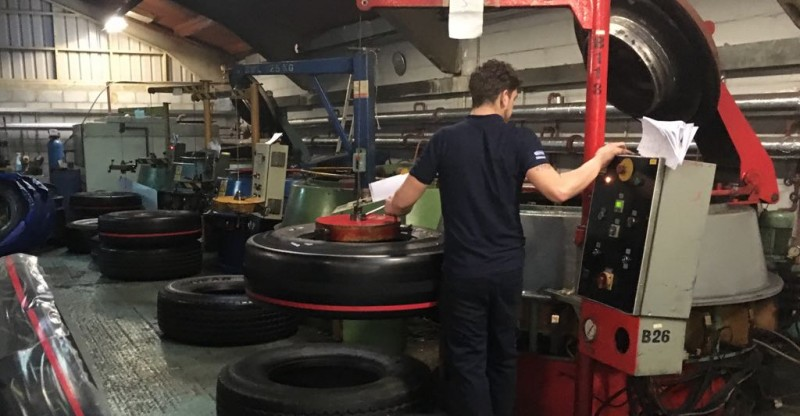 Vipal lauded Chelmsford-based retreader Select Tyres' energy reduction efforts