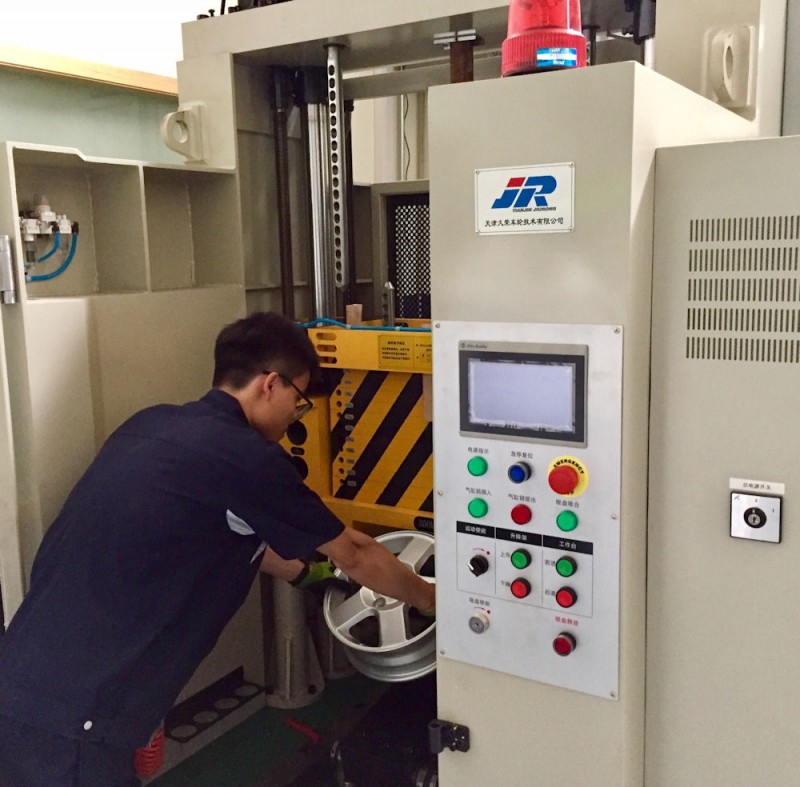 The installation of new equipment at Smithers' lab in China enables it to perform several new tests, including (pictured) wheel impact (Photo: Business Wire)