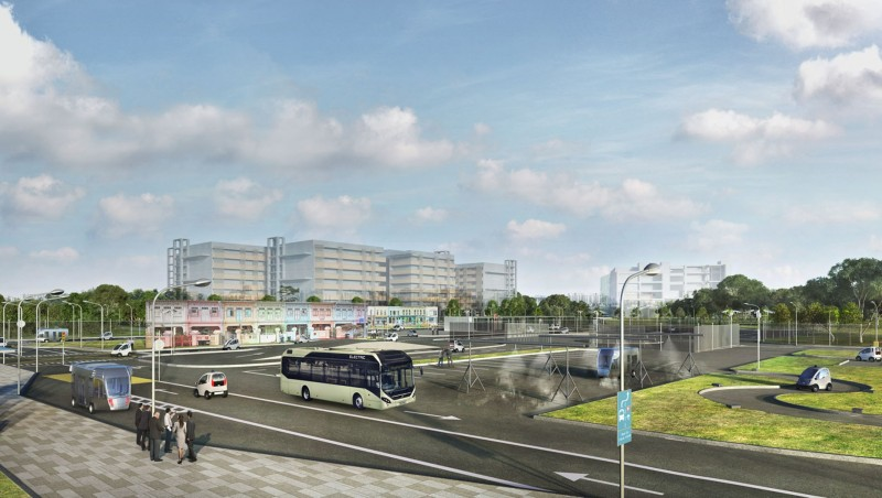 Volvo to develop autonomous electric buses for Singapore