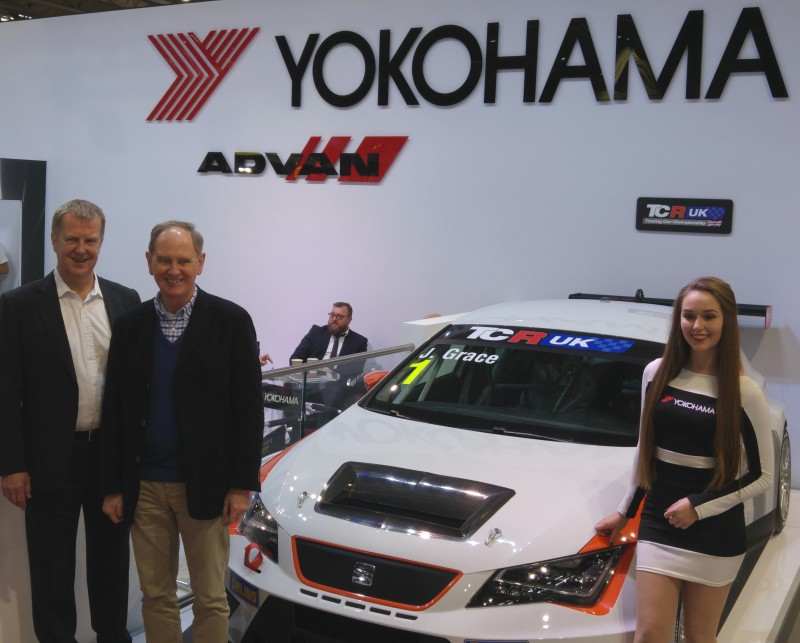 Yokohama selected as tyre partner for debut TCR UK touring car series
