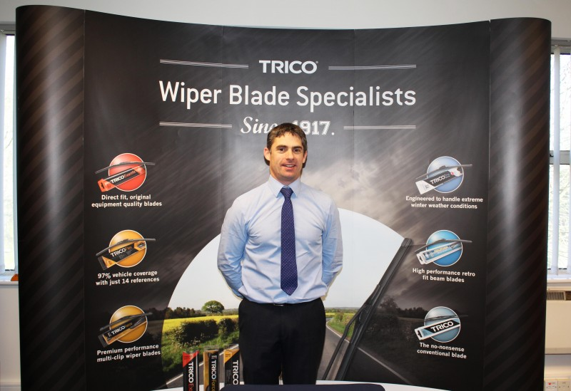 Andy Taylor, Trico technical sales representative for the UK & Ireland