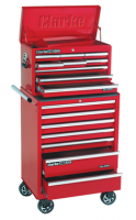 Keep tidy with Clarke tool chests, cabinets