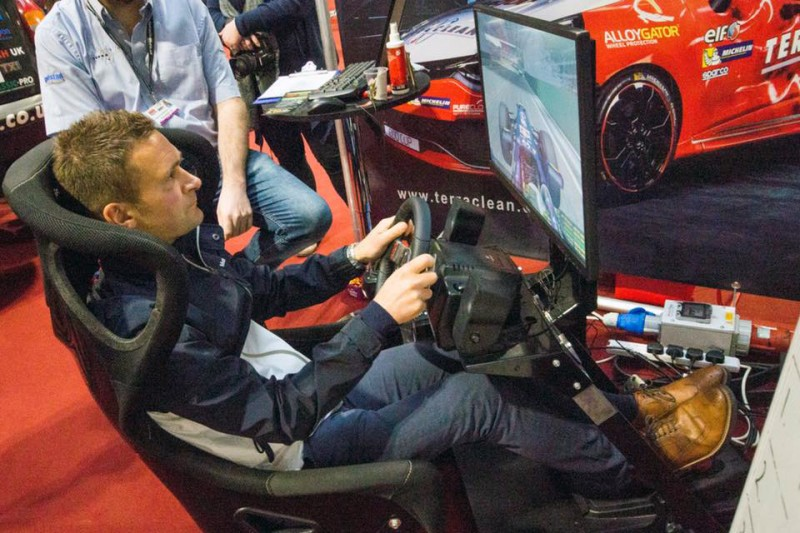 TerraClean raises funds for charity at Autosport International