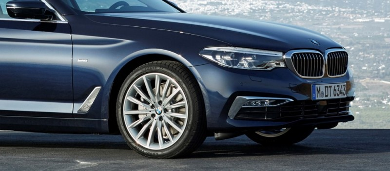 Goodyear & Dunlop tyres OE on BMW 5 Series