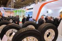 Hankook unveiling bus tyre, presenting commercial portfolio at CV Show