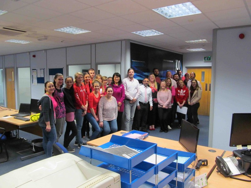 SMPE donates to British Heart Foundation