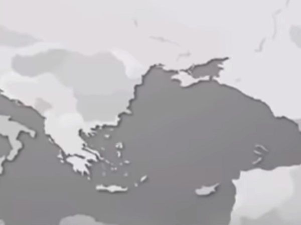 In Continental's promotional video, Turkey appeared to have sunk into the sea