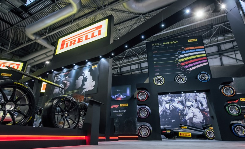 Pirelli increases presence at Autosport International