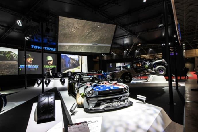 Toyo exhibits global racing pedigree with Ken Block, BJ Baldwin at Tokyo Auto Salon