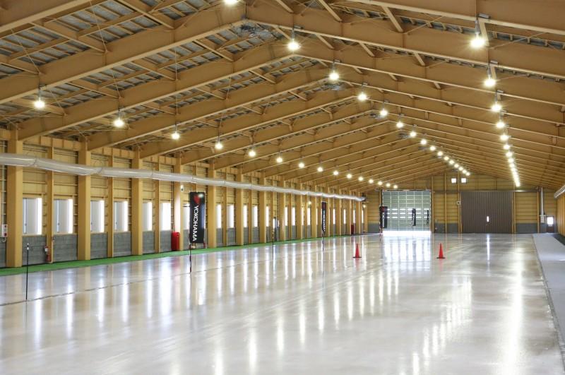 Yokohama opens indoor winter tyre test facility
