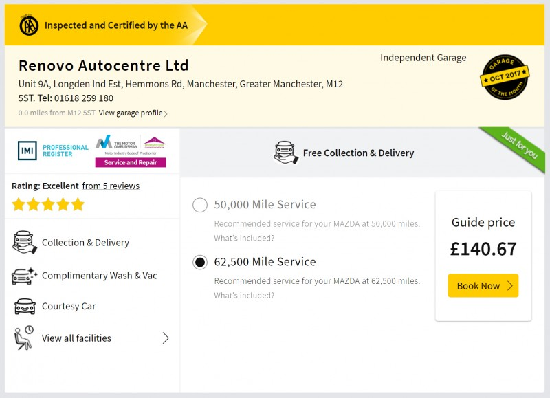AA Guide Price: the 'life saving' tool for busy garages