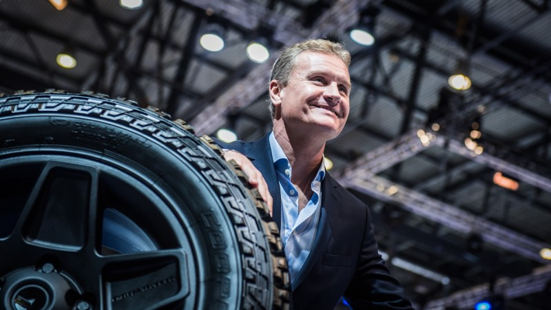 Cooper shows six-wheeler and first VW OE fitment tyres in Geneva
