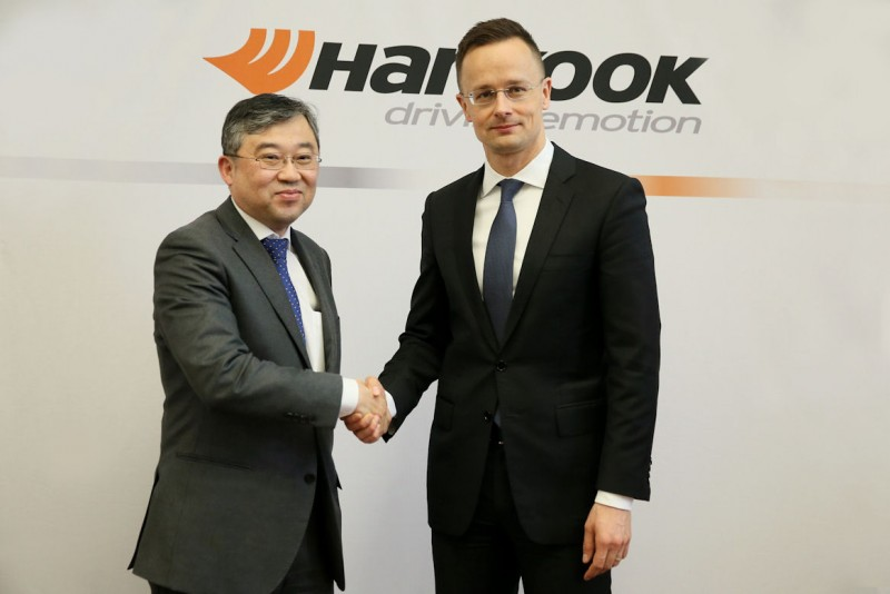 Hankook adding truck tyre production to European plant