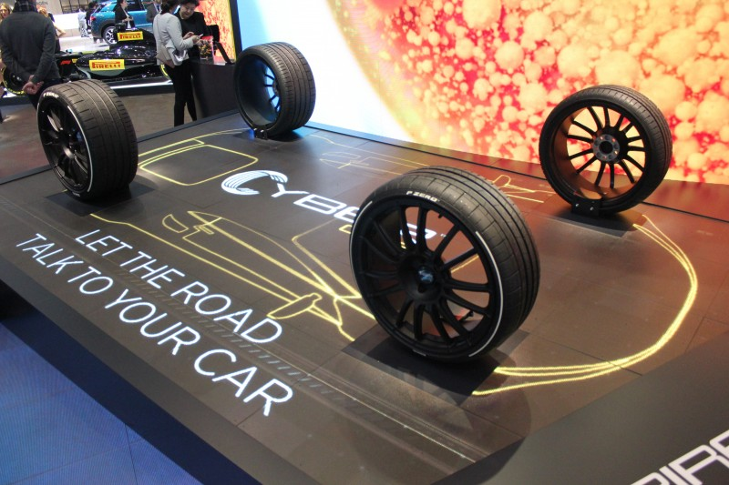Pirelli presents Cyber Car sensor integration solution