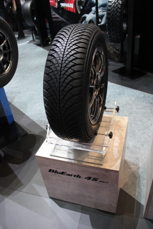 The BluEarth-4S AW21is Yokohama's first ever European market all-season tyre