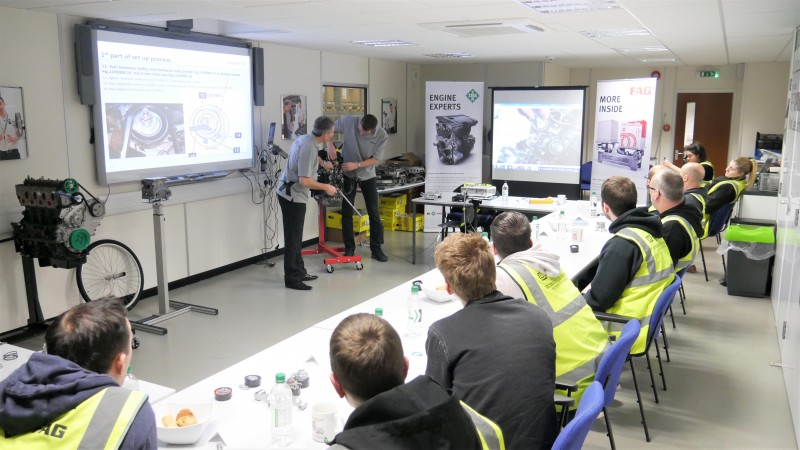 Workshop technicians praise latest Schaeffler Repxpert INA and FAG training event in Hereford