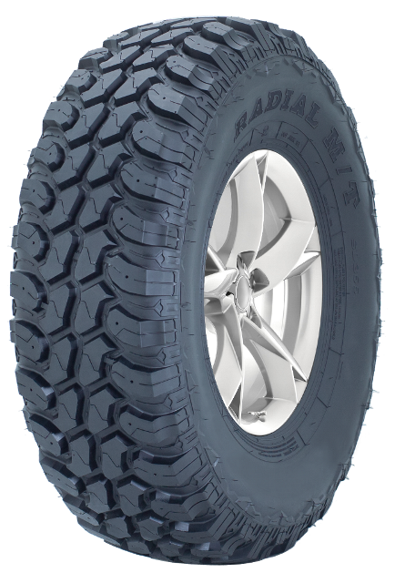 While more mud-orientated patterns such as the MT383 have very practical applications, there is also a trend towards fitting such tyres for aesthetic reasons