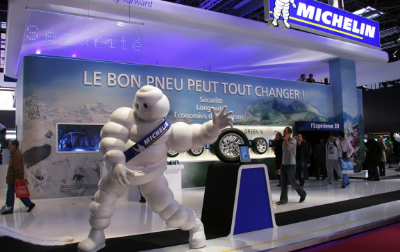 Michelin becomes world's most valuable tyre brand