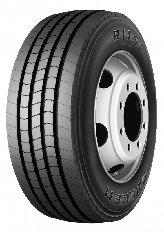 Falken RI151 steer axle tyre for buses is now available in high load applications
