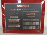 Yokohama obtains Caterpillar platinum recertification