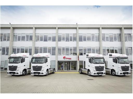 Goodyear named Girteka Logistics' main tyre partner