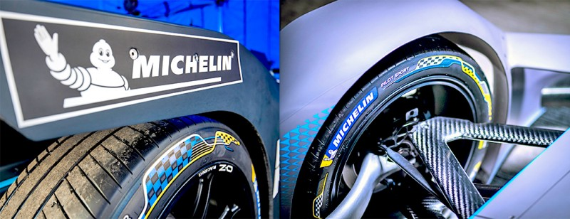Lighter and road-near – Michelin ready for Formula E season with new Pilot Sport