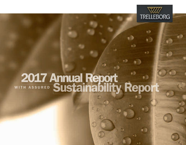 Trelleborg publishes 2017 Annual Report