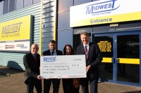 Midwest raises further funds for Bilston Town FC
