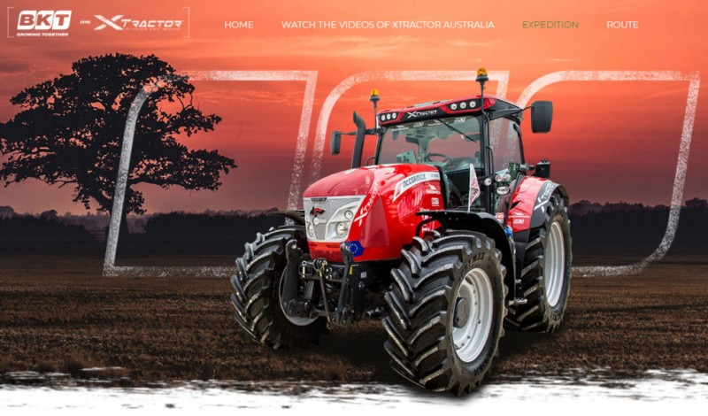 BKT launches Xtractor 2018 website