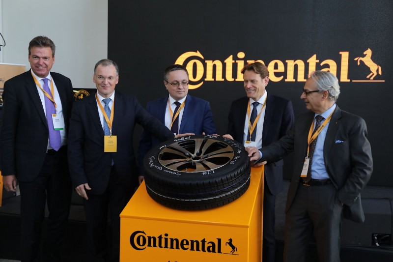 Output at Continental's Kaluga plant exceeds 10 million tyres