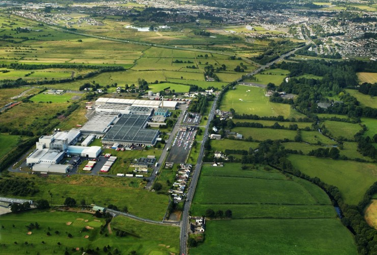 Last tyre made in Michelin's Ballymena plant