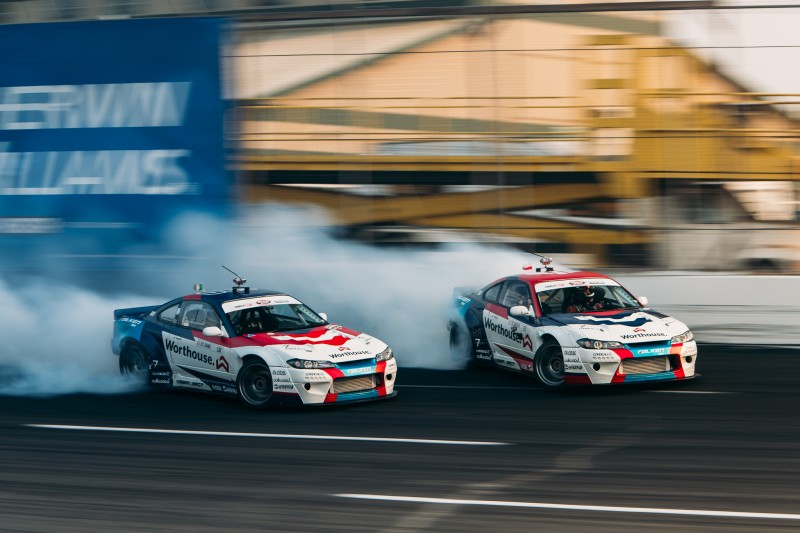The Worthouse Drift Team in action