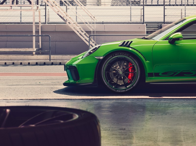 The new Porsche 911 GT3 RS will roll out on the Dunlop Sport Maxx Race 2