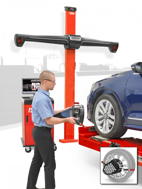 The new Hunter PA200 ACE wheel alignment system is now available from Pro-Align