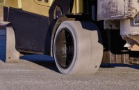 CeMat debut for non-marking, anti-static Camso forklift tyre
