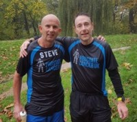 TYM's Steve Eke running the London Marathon for Prostate Cancer UK