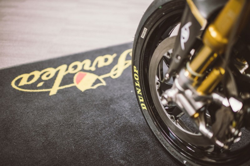 Dunlop takes over from Bridgestone as Saroléa technical partner