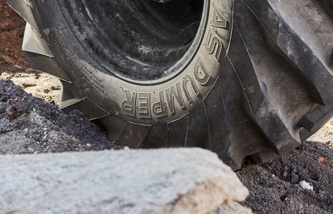 Prolong dumper tyre life with correct air pressure maintenance