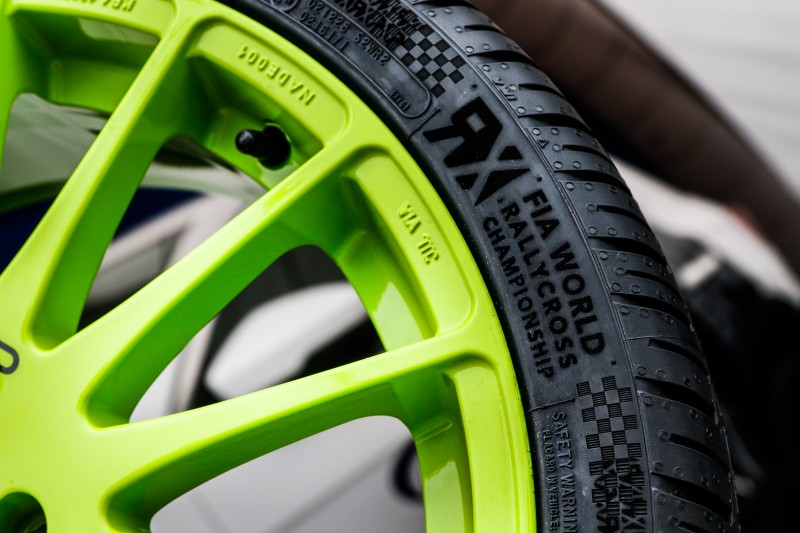 Cooper unveils World RX-Edition Zeon CS8 UHP tyre