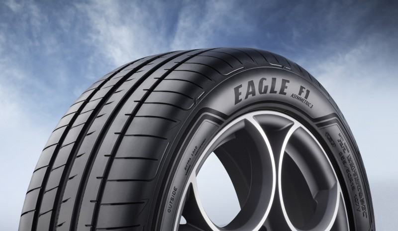 Goodyear Eagle F1 Asymmetric 3 SUV launch reveals initial size list