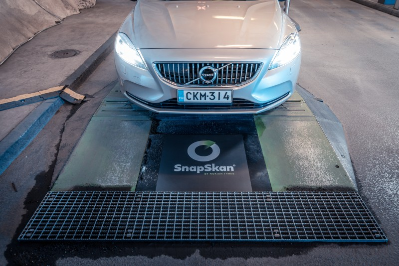 Nokian Tyres' SnapSkan service expands internationally