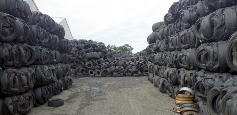 Tyre recycling company and manager sentenced for illegal Ayrshire tyre site