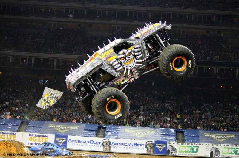 Monster Jam returning to Europe