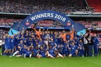 FA Cup honours for Yokohama-sponsored Chelsea FC