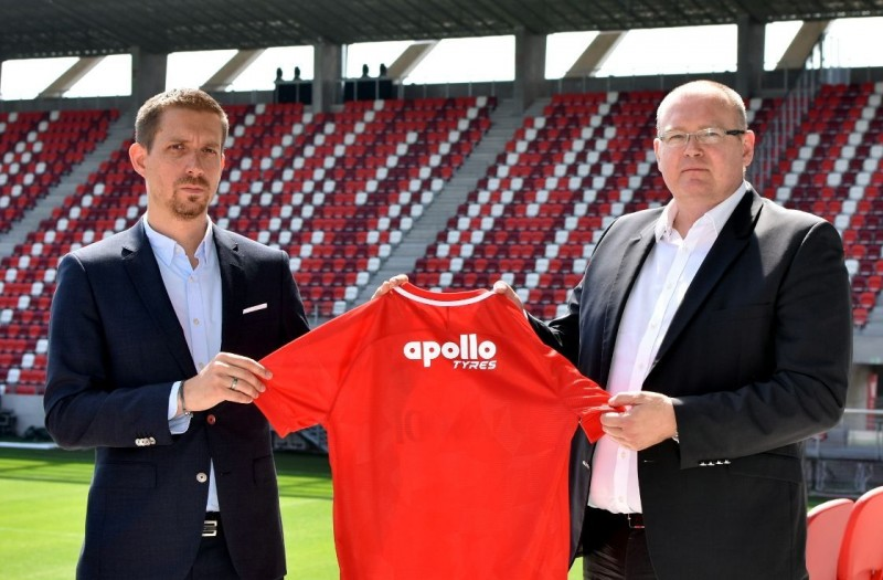 Apollo Tyres signs three-year sponsorship deal Hungarian football team DVTK