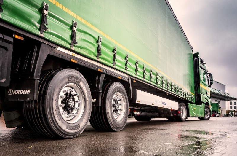 Giti launches key commercial tyre sizes one year since rebranding at CV Show 2018