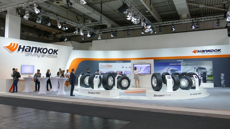 Thinking ahead: Hankook Tire preparing for IAA CV