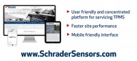 New site & address – Schrader Performance Sensors upgrades online presence